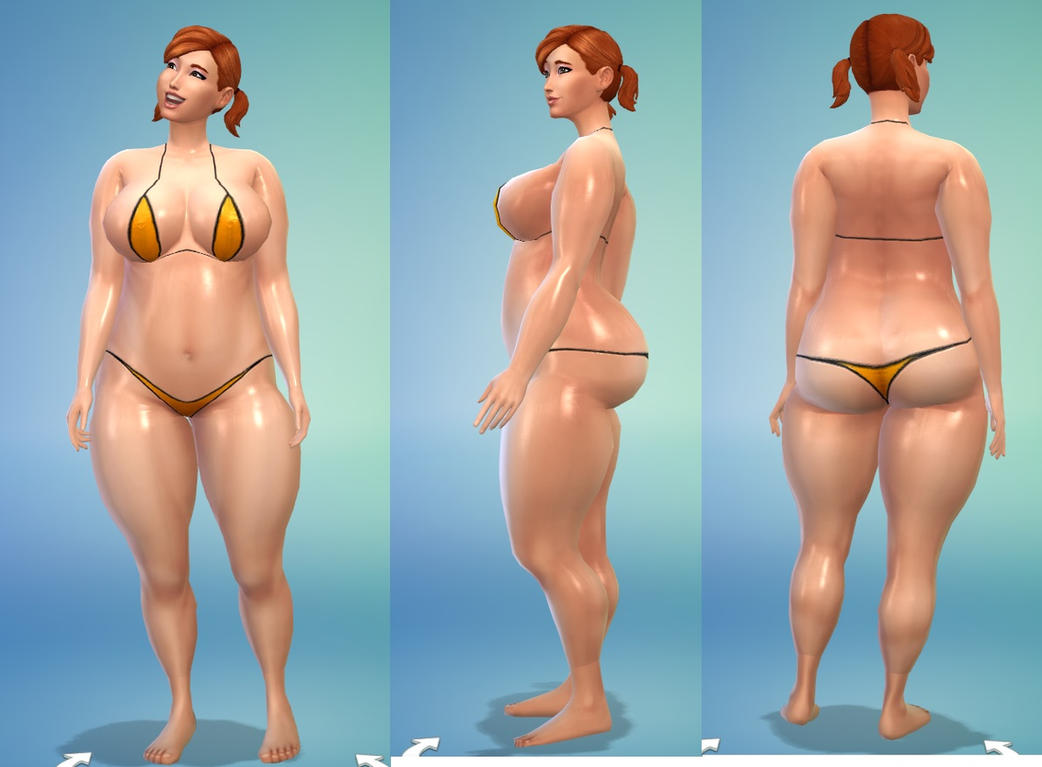 Sims 4 (thin) by coldsteelj