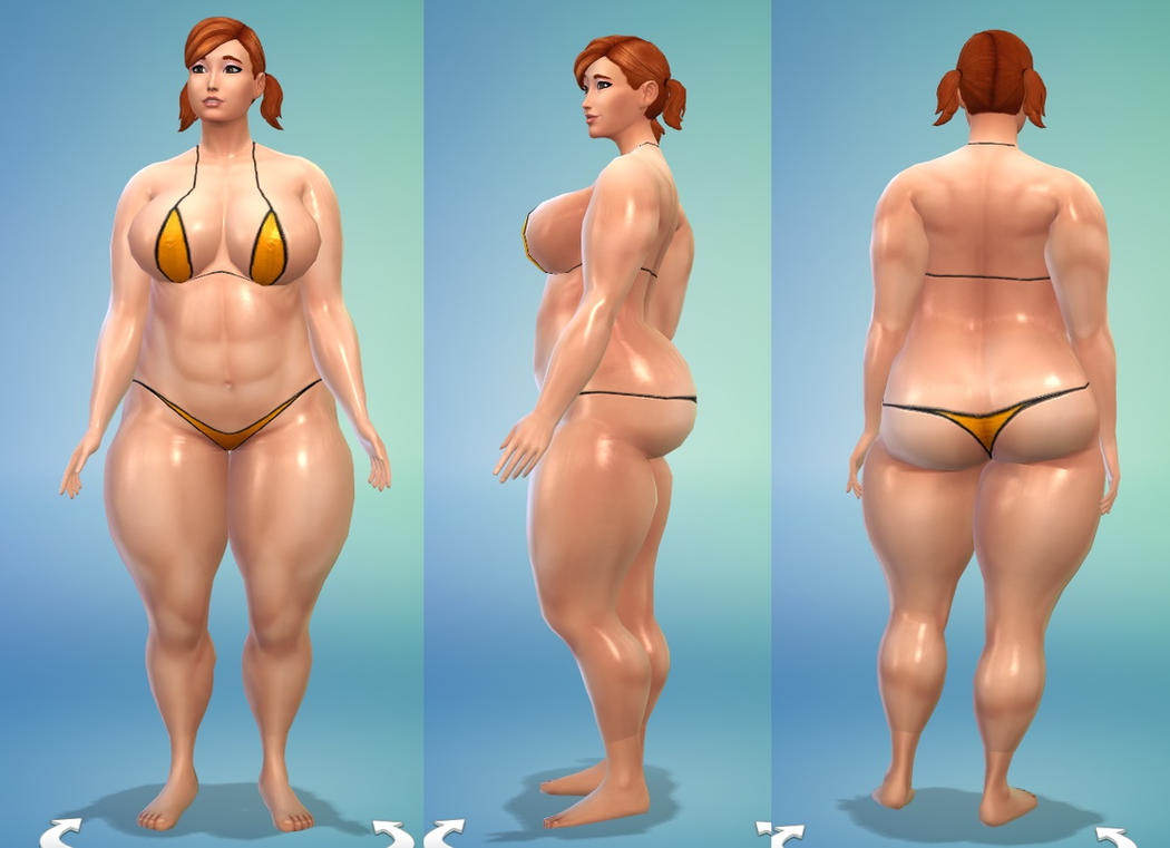 Sims 4 strong by coldsteelj