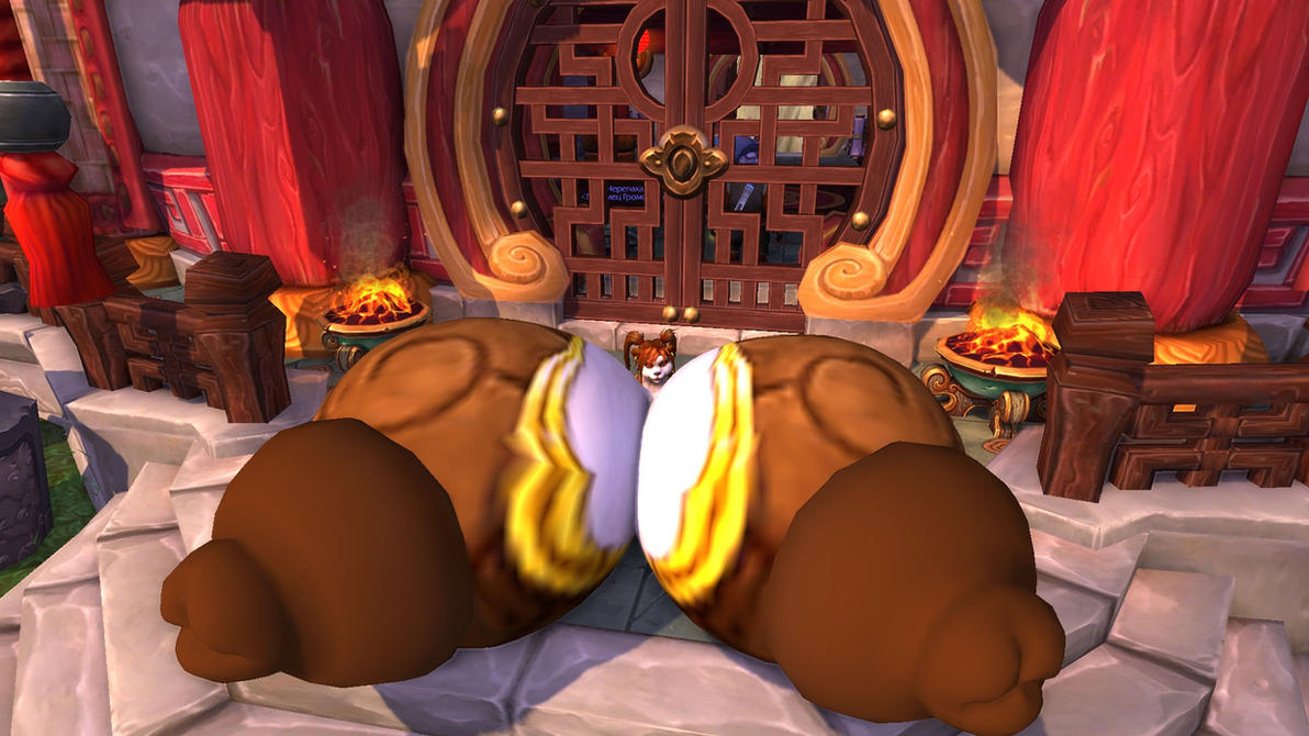 pandaren Goldcoin (giant boobs and bbw bottom) by coldsteelj