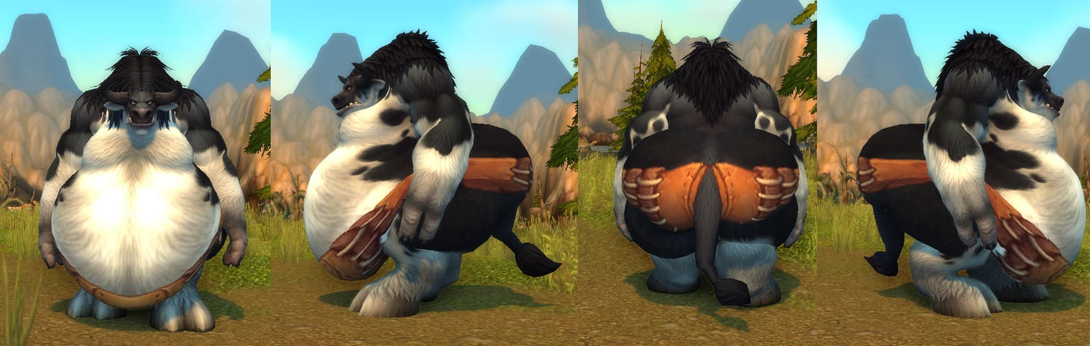 Tauren fat male by coldsteelj