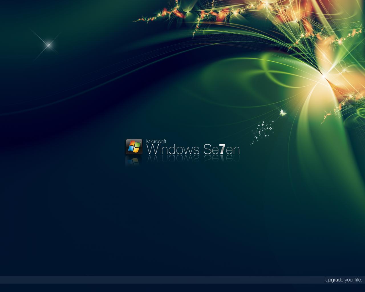 Windows 7 Seven Wallpaper Fondos De Escritorio Wallpapers: Wallpapers Para Windows 7