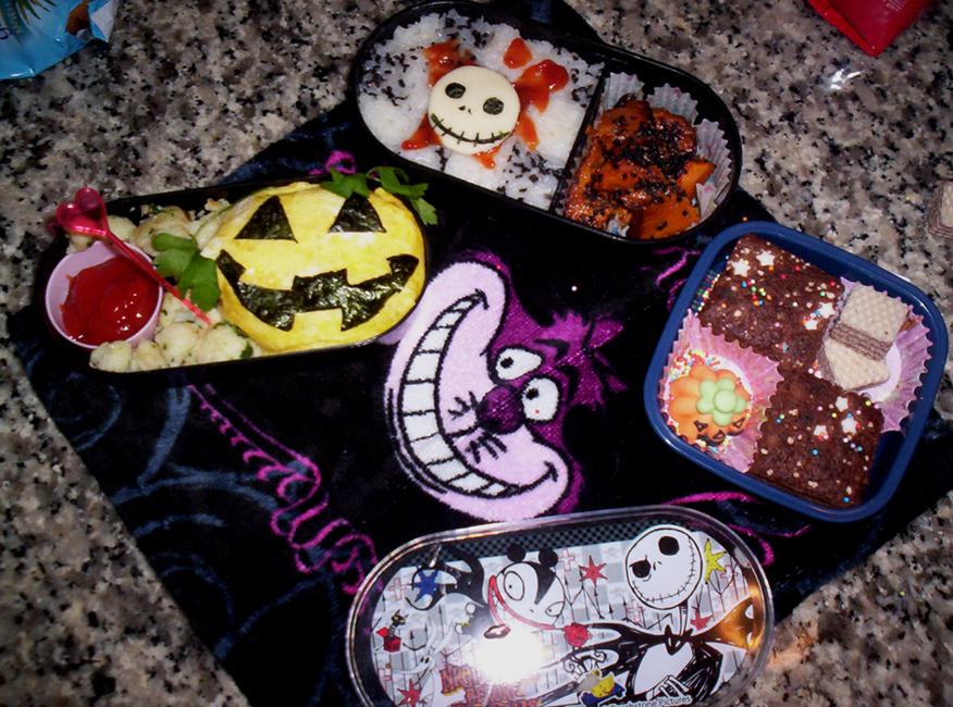 Halloween bento by xxxKei87xxx