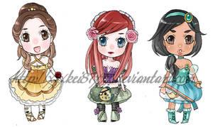 Disney lolita princess charms