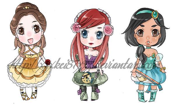 Groupe de Princesses Fanarts. - Page 2 Disney_lolita_princess_charms_by_xxxKei87xxx