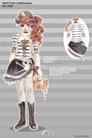 Pirate Lolita design contest by xxxKei87xxx