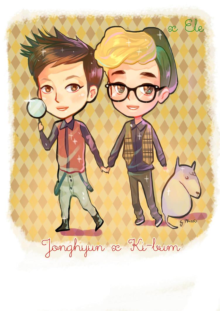 SHINee Sherlock Fan art by xxxKei87xxx