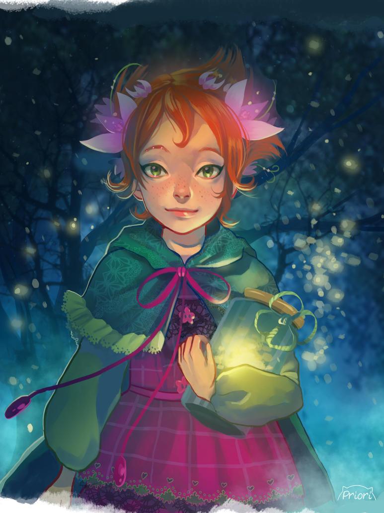 Fairy Oak Painted  Commission by xxxKei87xxx