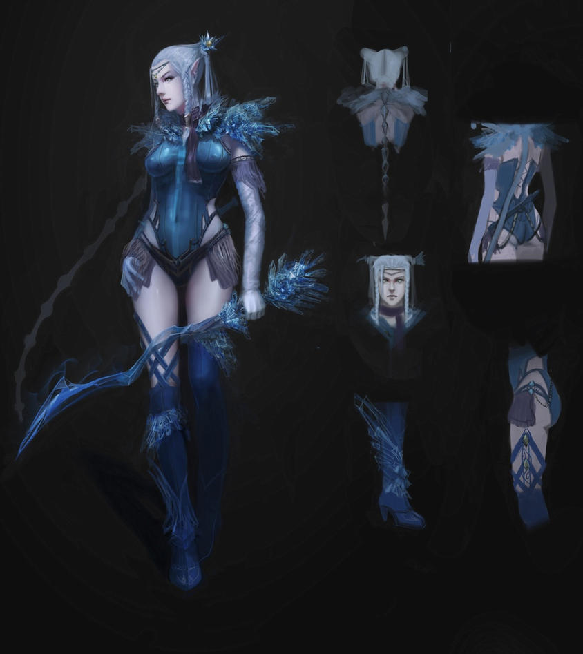 ice elf by fangogogo