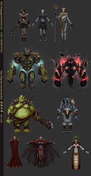 Some monster design