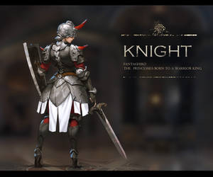 A Knight design by fangogogo