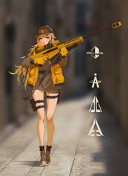 sniper-Elsa by fangogogo