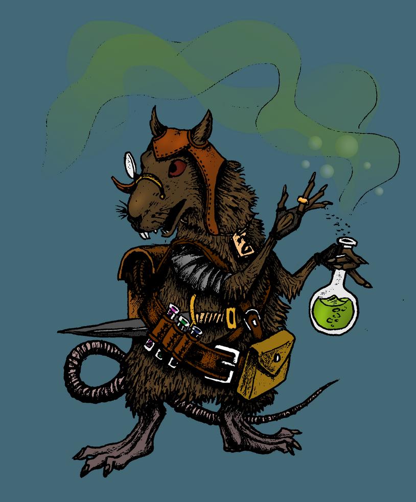 Shkrik the Alchemist by aagapovjr