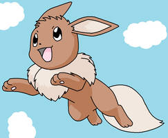 Eevee hatched! by Rainmask-forever