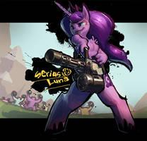 Serious Luna! by derekireba