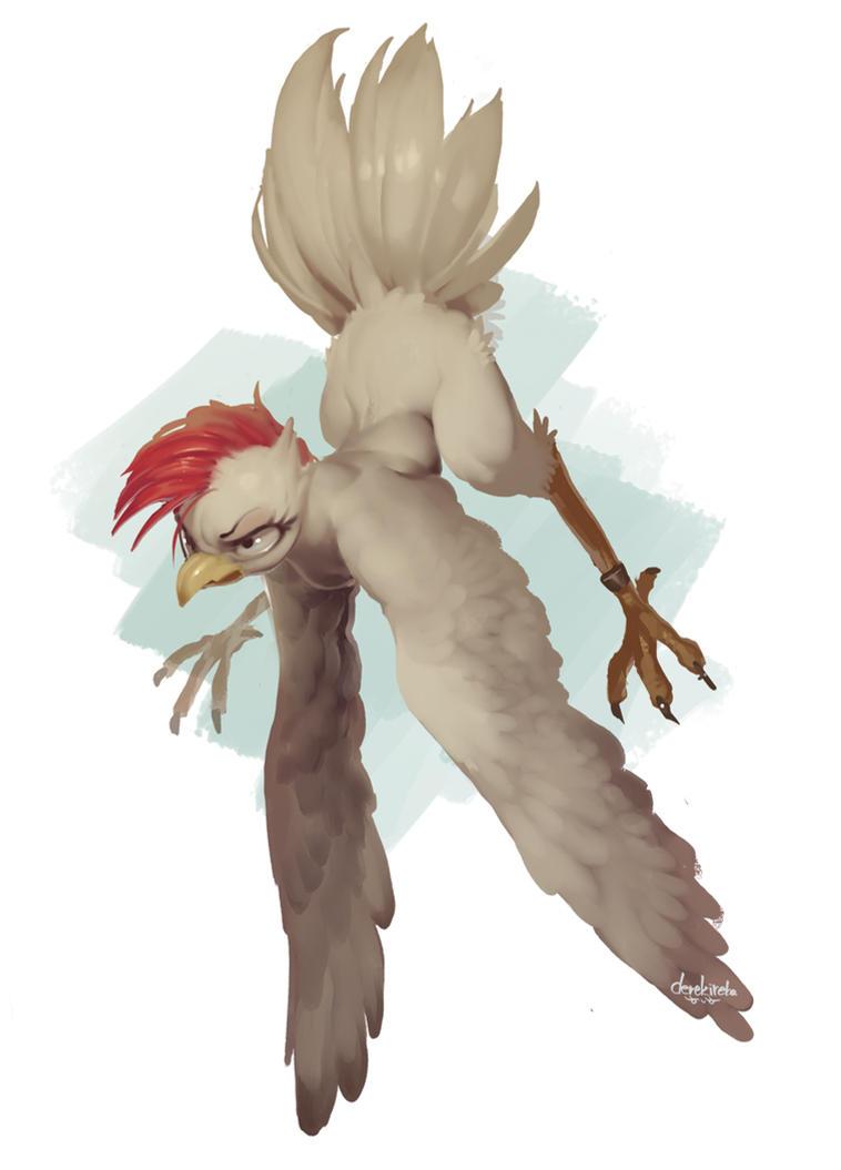 Chicken by derekireba