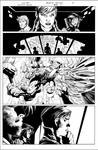 Suicide Squad page study over Lee and Glapion by MisterInkSlinger