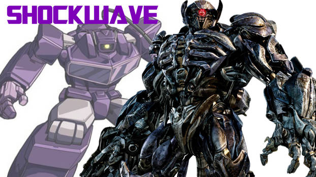 Transformers Then and now: Shockwave