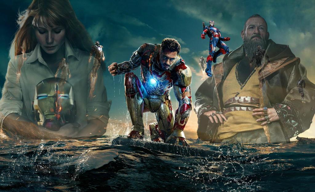 iron man 3 wallpaper by transformersfan482 on deviantart