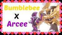 Bumblebee X Arcee Stamp