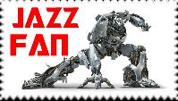 Jazz Fan Stamp