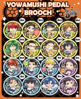 .:PRE-ORDER:.BROOCH yowamushi pedal by SUKIBLOG