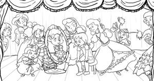 Crossing Paths Lineart