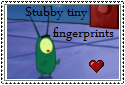 stubby,tiny fingerprints stamp by SeairaSophia101