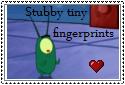 stubby,tiny fingerprints stamp by SeairaSophia101