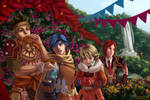Baten Kaitos - City of Flowers