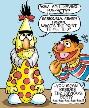 Bert as Zippy