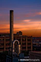 Urban Sunset by snak