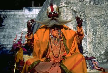 Hindu Holy Man by snak