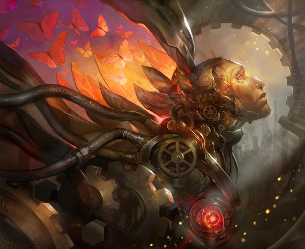 Artificial Dream by juliedillon