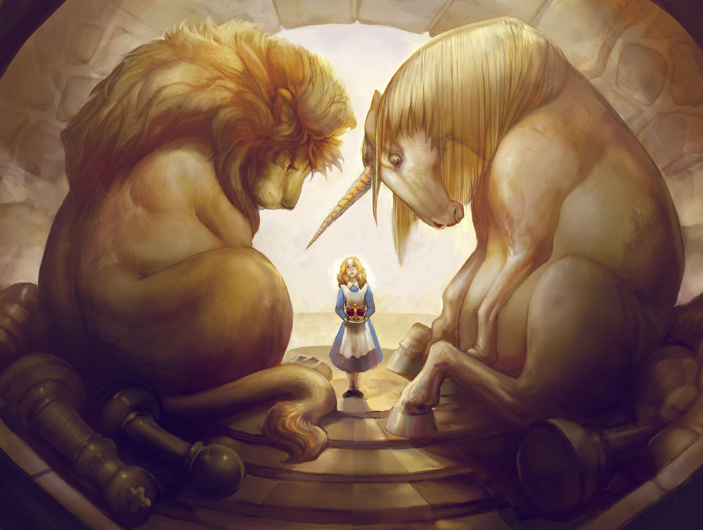 The Lion and The Unicorn by juliedillon