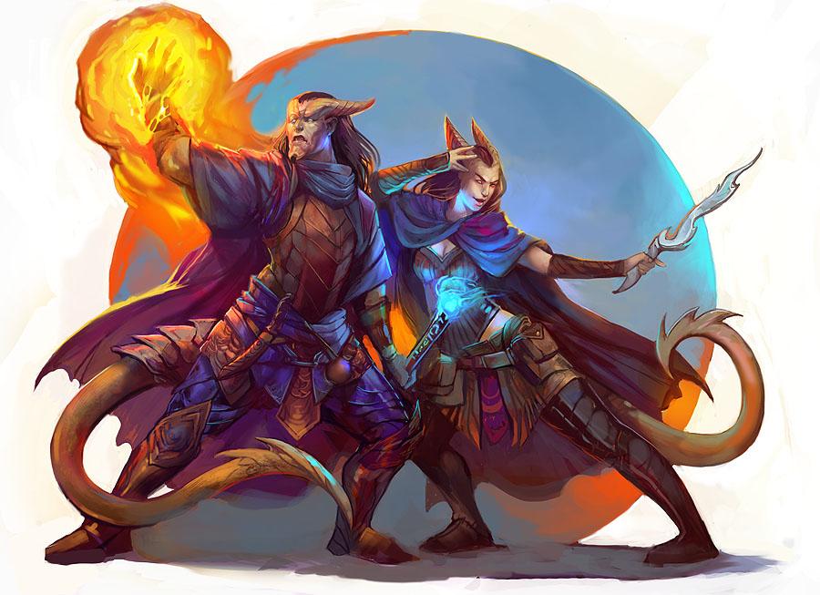 Warlocks Dragons: Dungeons And Dragons