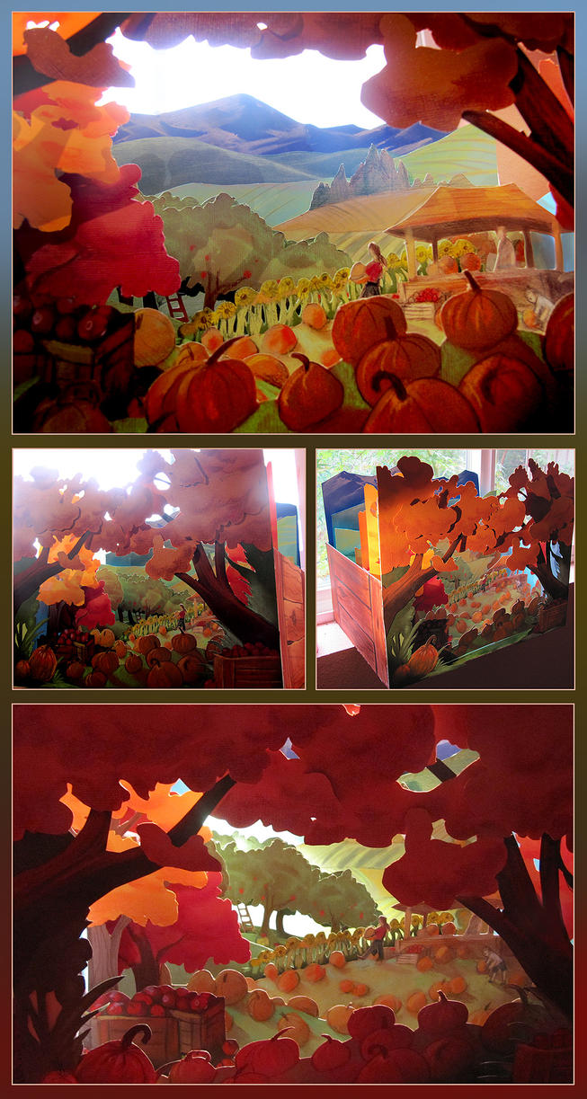Merrell Diorama Contest - Autumn by juliedillon