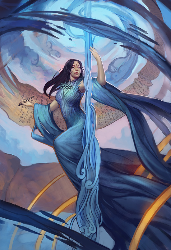 Aquarius - Llewellyn Worldwide by juliedillon on DeviantArt  Anime Aquarius