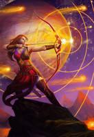Sagittarius - Llewellyn Worldwide by juliedillon