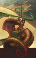 Desert Dragon by juliedillon