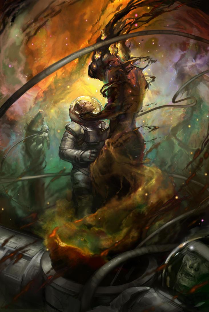 Space Sirens by juliedillon