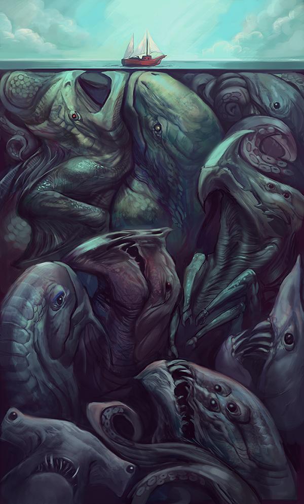 Beneath the Surface by juliedillon