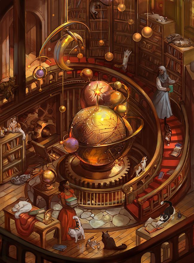 Scholars' Tower by juliedillon