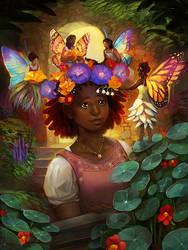 The Faerie Garden by juliedillon
