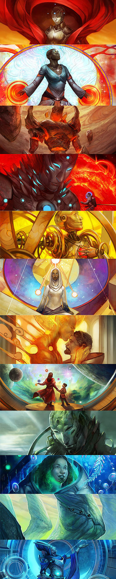 Preview for Imagined Realms Book 2: Earth and Sky by juliedillon