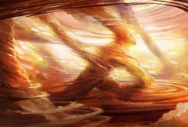Jovian Storm Strider by juliedillon