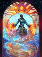 Cosmic Traveler by juliedillon
