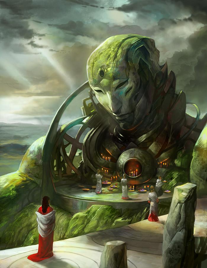 Sleeping Giant by juliedillon