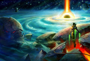 Beyond the Stars by juliedillon
