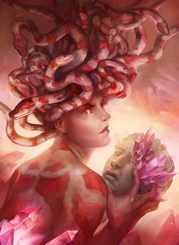 Medusa by juliedillon