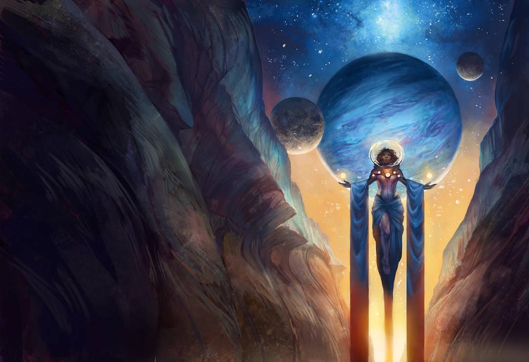 At Galaxy's Edge by juliedillon